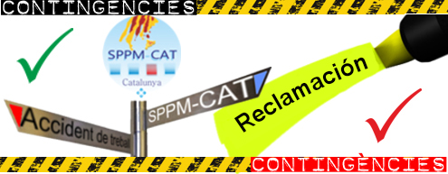 SPPM Cat, reclamación por accidente laboral