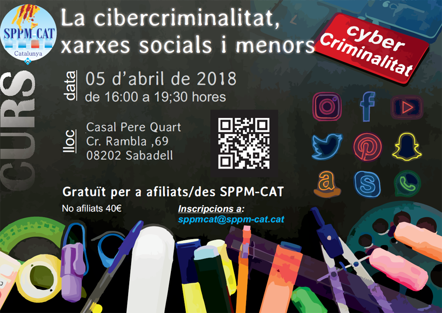 Curs SPPM Cat- La cibercriminalitat, xarxes socials i menors