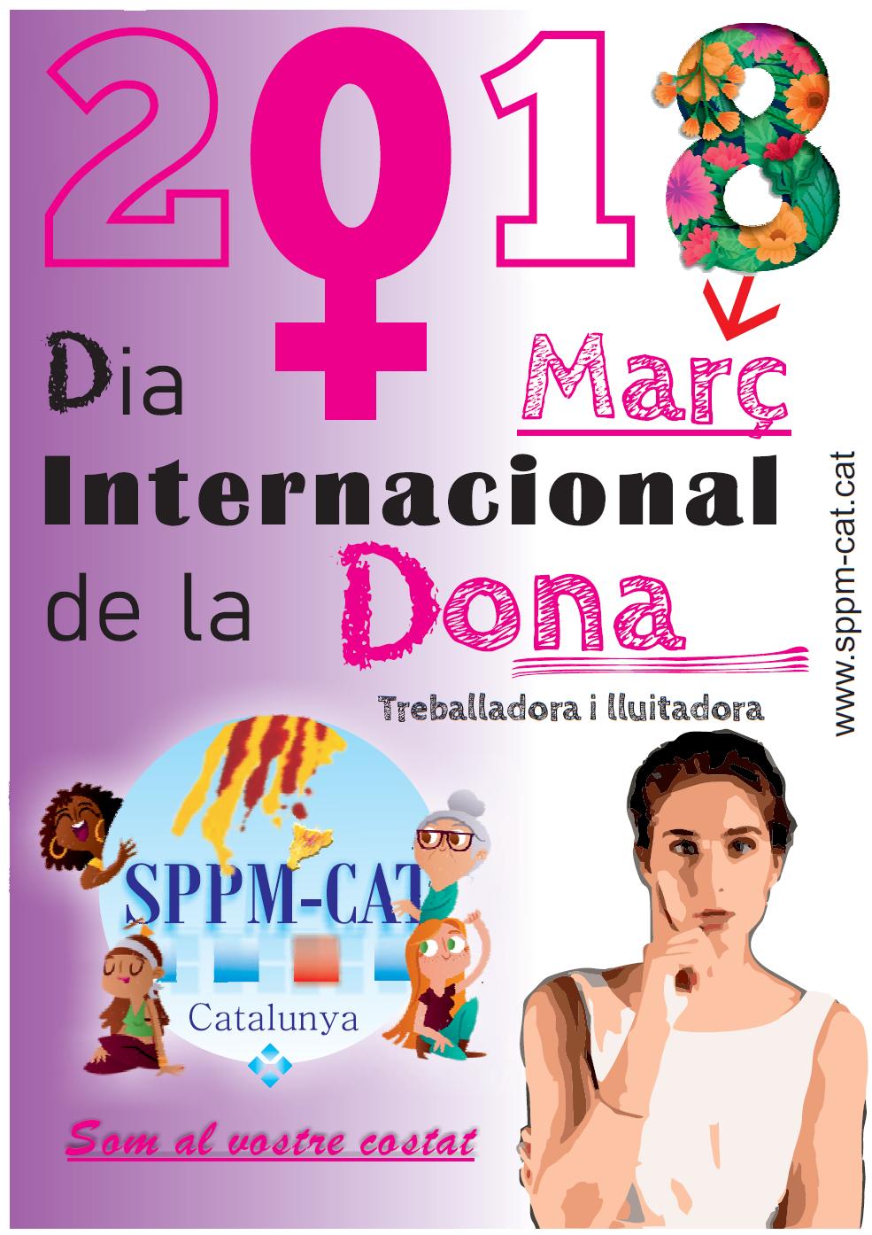 El SPPM Cat amb el Dia Internacional de la Dona