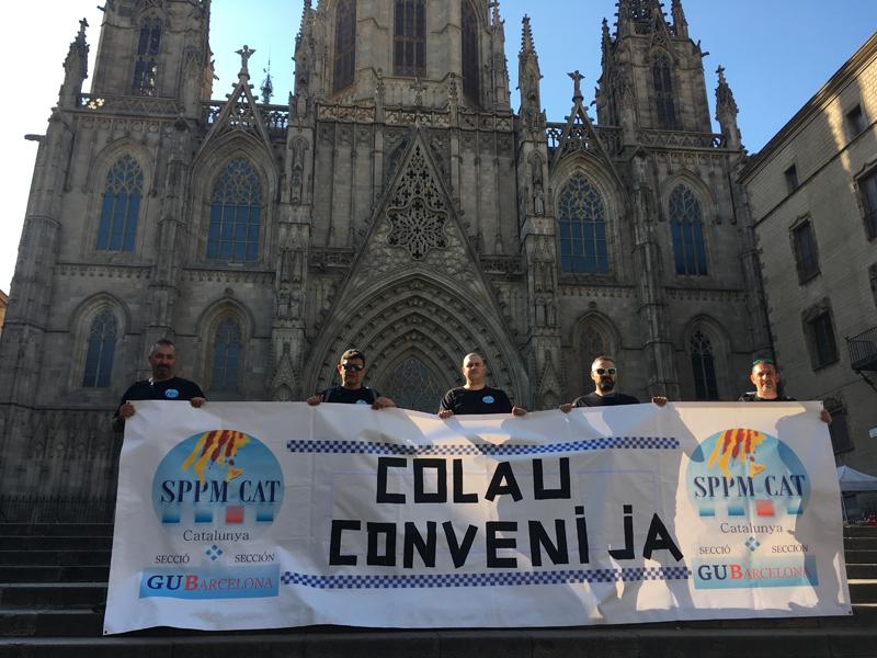 Secció sindical SPPM Cat de Guàrdia Urbana de Barcelona – Movilització per la negociació del conveni