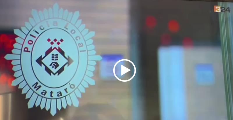 SPLCME de la Policia Local de Mataró a TV3 i premsa