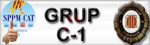 Aprovació del Grup C-1 per als Policies Locals de Catalunya