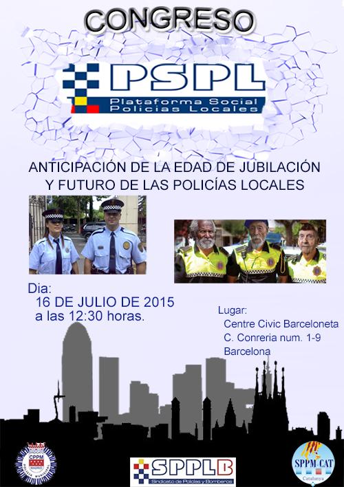 Congreso de la  PSPL en Barcelona