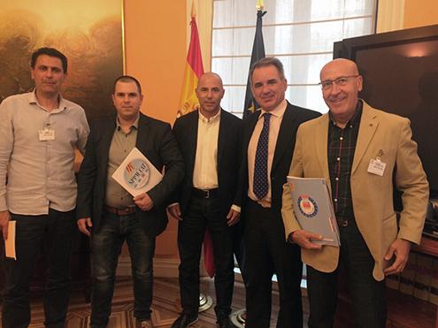 SPPM Cat se reune en Madrid en los  Ministerios de Interior y Seguridad Social
