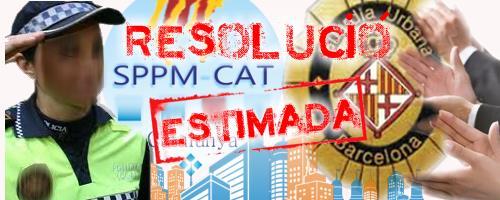 L´Ajuntament de Barcelona estima el recurs presentat per sindicat SPPM Cat