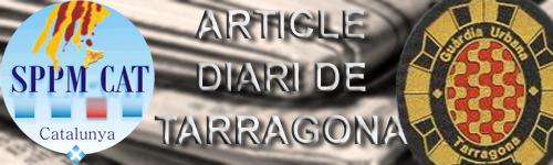 Article Diari de tarragona.com, sobre Guardia Urbana Tarragona
