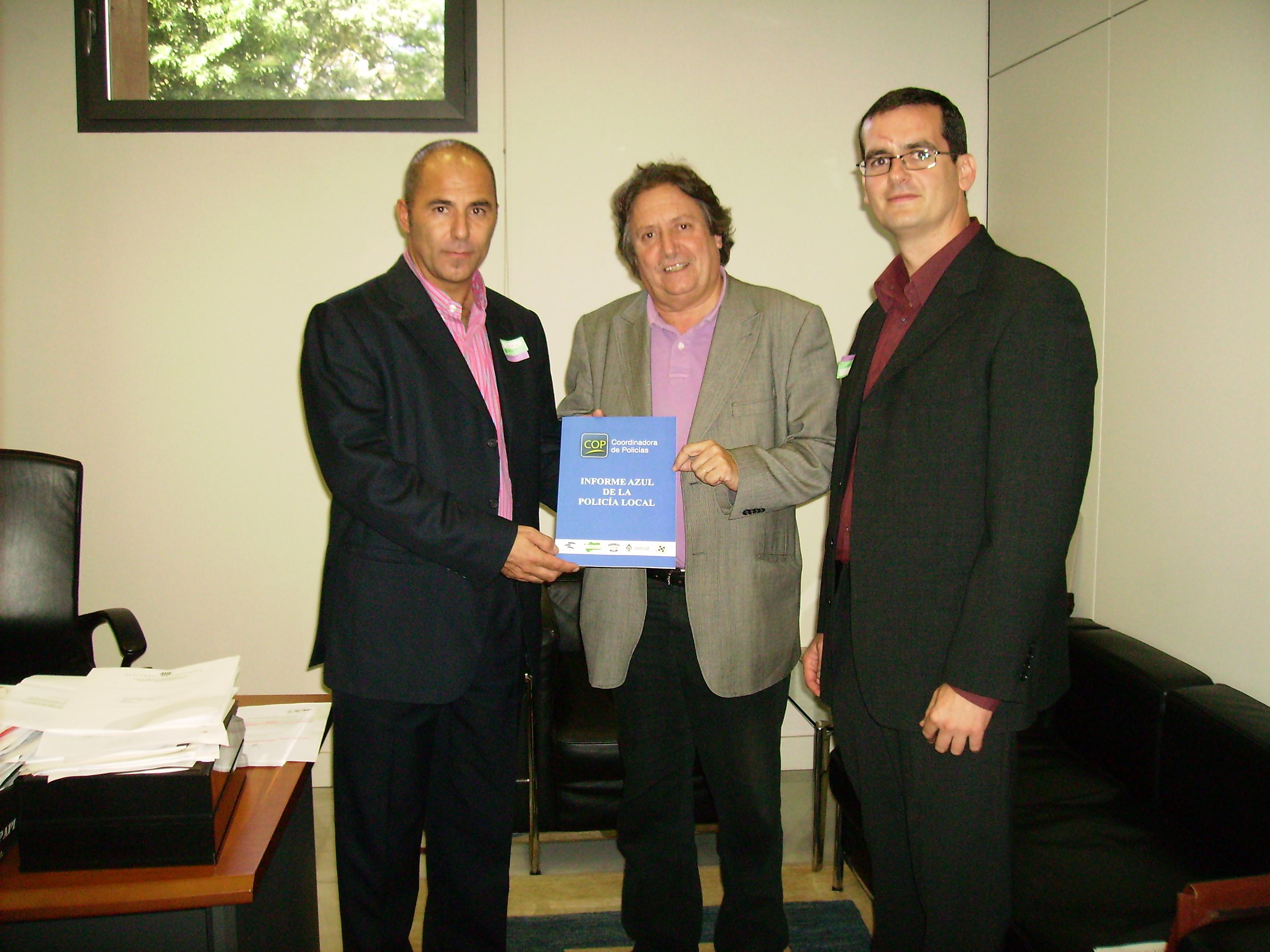 Reunió del sindicat SPPM-Cat amb el diputat de ICV, Sr. Jaume Bosch Mestres