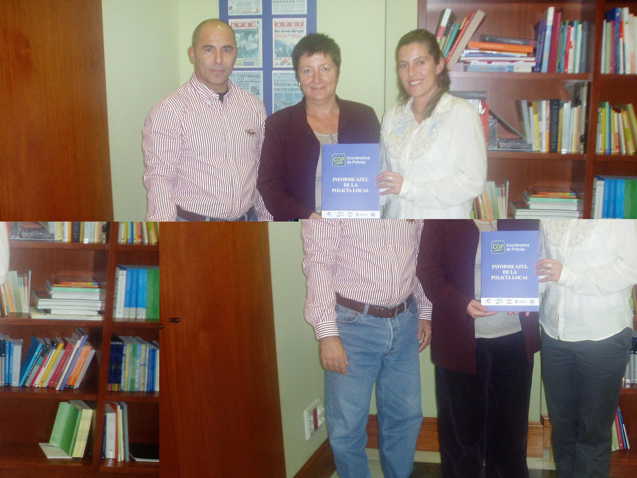 Reunió del sindicat SPPM-Cat amb la diputada de CIU, Sra. Elena Ribera Garijo