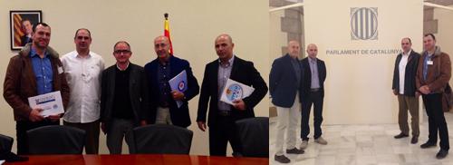Reunió Parlament de Catalunya