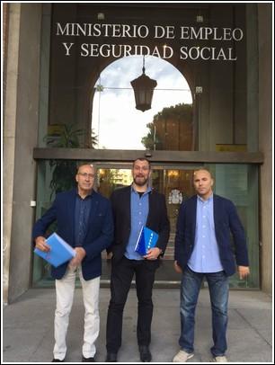 REUNIÓN CON LA SECRETARÍA DE ESTADO DE LA SEGURIDAD SOCIAL